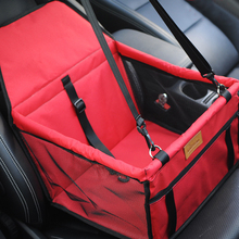 Portable Pet Dog Car Booster Seat Folding Dog Sling Carrier Pet Travel Bag for Cars with Safety Leash