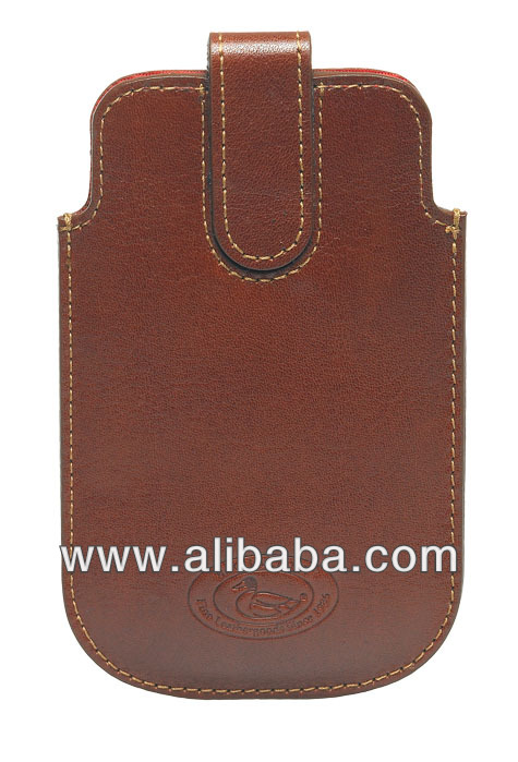 Leather Mobile Case with Strap
