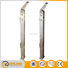 Handrails temperature resistance polished stainless steel balustrade