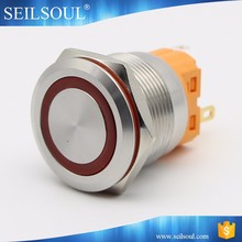 Favorable price 22mm stainless steel waterproof push button switch