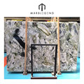 Luxurious design competitive price wholesale white beauty chinese green marble slab