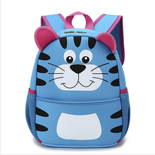 Latest Cheap cartoon animal Child bags Neoprene insulted children school bag backpack new models for girls