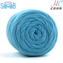2019 China fabric t shirt <strong>yarn</strong> supplier hot wholesale <strong>spun</strong> <strong>polyester</strong> dyed t shirt <strong>yarn</strong> for crochet