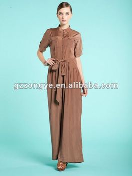 Fashion women overalls solid color jumpsuits 2012 fahion factory wholesale