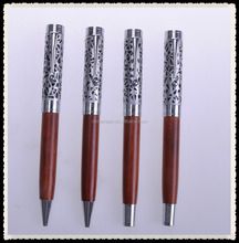 Popular wood pen set/luxury gifts wooden ball pen with box