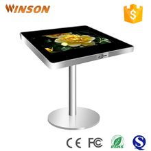Restaurant table for interactive smart touch screen kiosk wholesale