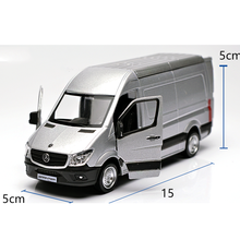 Promotional DHL good design zinc alloy miniature model van with high quality