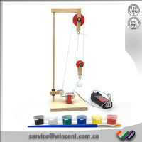 School lesson educational Kit for crane machine science projects