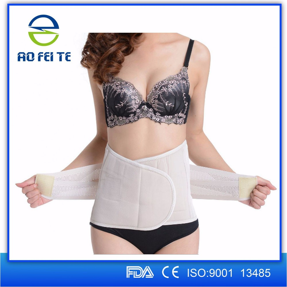 Hot on google body shape waist trimmer belt with steel plates