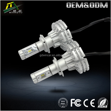 Wholesale high power h7 1800 lm car led headlight with factory supply