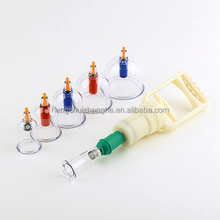 Traditional Chinese 6 Cups Vacuum Cupping Set Massage Healthy Therapy