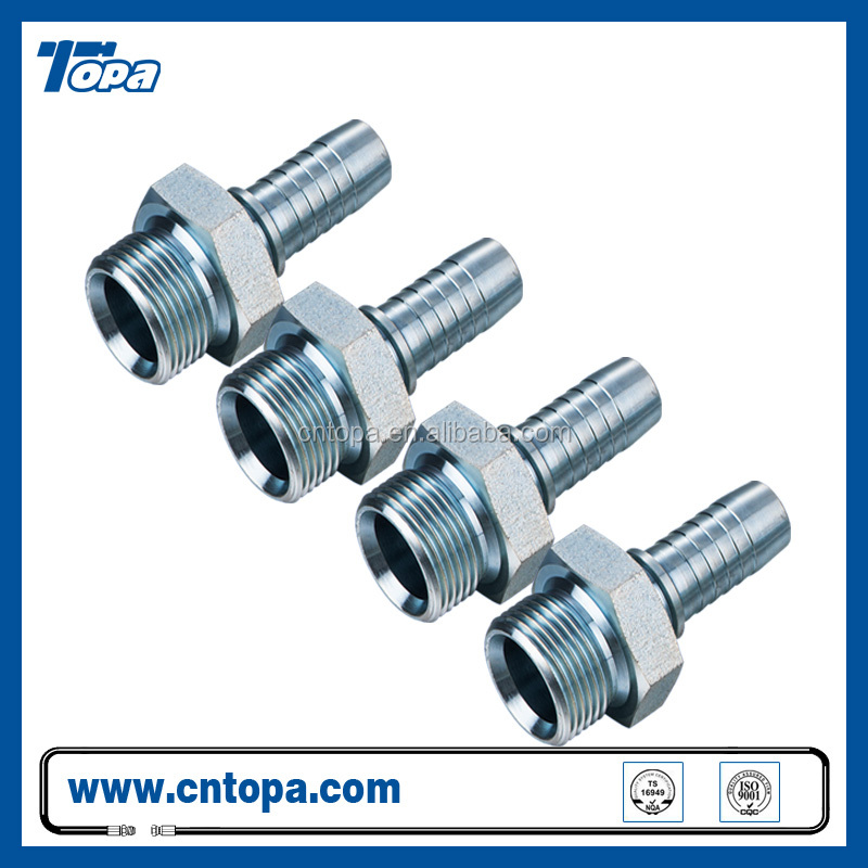 Carbon steel compression fitting hydraulic fitting 10311