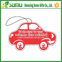 Customized Logo OEM Designed Perfumed designer car air freshener