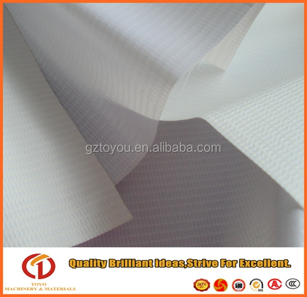 banner fabric for light box pvc flex laminated