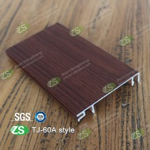 Aluminum waterproofkitchen cabinet pvc skirting board