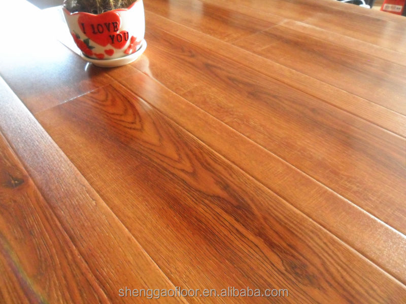 12mm Handscraped <strong>Oak</strong> HDF Laminate Flooring