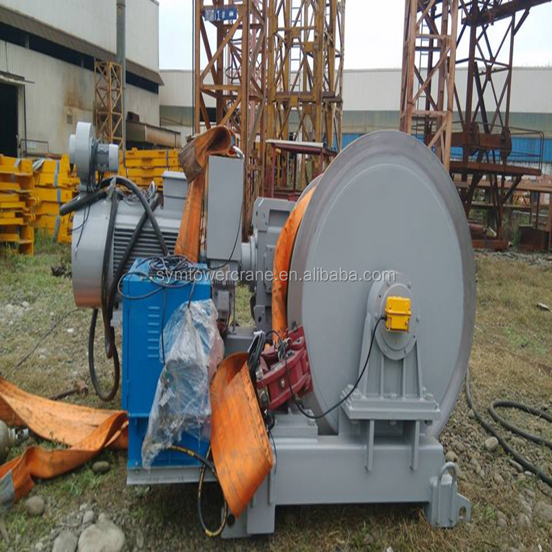 hoisting mechanism 40pc20 for tower crane with branded boxes for hoist lifting machine