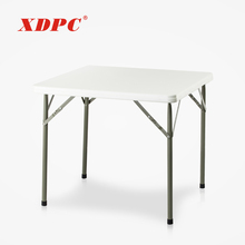 dubai cheap wholesale 4 seat square foldable folding plastic outdoor camping picnic dining tables