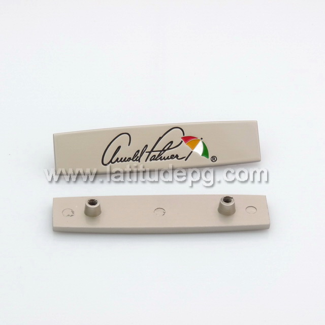CR-AC4169-LOGO Hot selling custom metal logo for habdbags