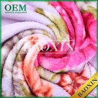 Baoxin Clothing Material 100 Poly flannelette cloth
