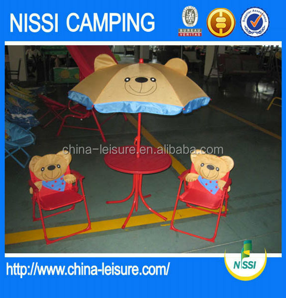 Portable Folding Comfortable Children Furniture Set children chairs table