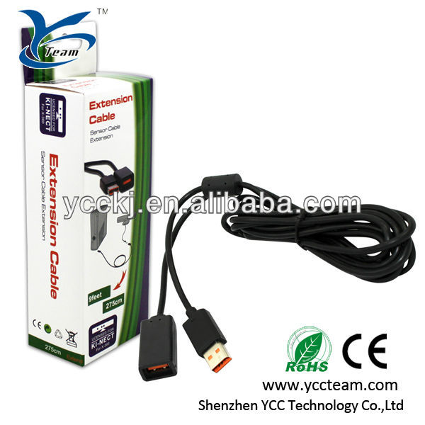For Xbox360 Kinect WiFi Extension Cable for xbox accessory