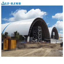 Prefabricated Steel Structure Long Span Roof for Storage Shed