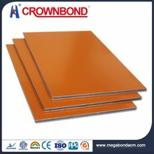 Crownbond Aluminum ACP paintable outdoor wall panel material