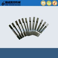 China 99.95% high purity vacuum evaporation molybdenum boat price for sale/molybdenum boat price for evaporation metalizing