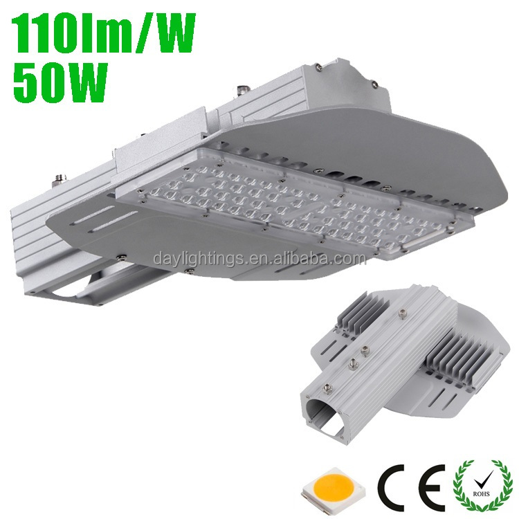 Meanwell driver led chip 50w led street light price