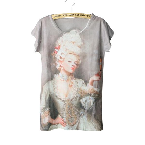 Tops Style 3D Women Camisetas Summer Roupas T Y Harajuku Blusas Shirt Ropa Mujer 2015 Cheap qwHxRTAI