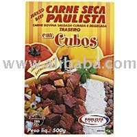 Dried Beef Diced Beef Jerked PAULISTA 500g