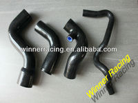 AUDI A4 1.8T/1800 TURBO VW PASSAT B5 Quattro SILICONE RADIATOR HOSE KIT 95-01 BLACK