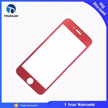 New 0.15MM Paint For iphone 6 6s 7 Tempered Glass 3D Full Cover Curved Glass 9H Hardness Explosionproof