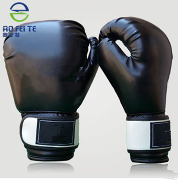 Pakistan leather custom logo boxing gloves for hot selling