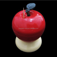 plastic apple shaoe toothpick holder