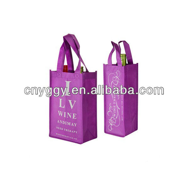 one wine bottle nonwoven bag