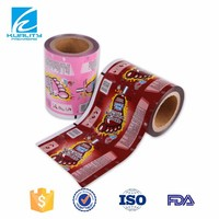Laminated printing plastic film for candy packaging in roll