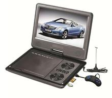 Large Size 15 inch MP5 FM TV COPY EVD VCD Game Photo SD USB 3D Portable DVD Player