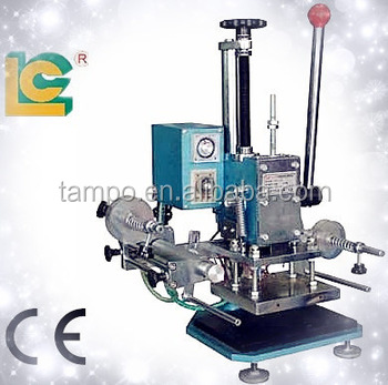 gold foil embossed printing machine fabric embossing machine business cards hot stamping machine