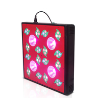 New arrivals 2016 Double roller and low noise MP200 hans panel led grow light