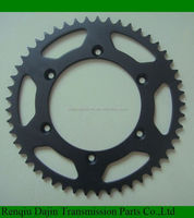 Dajin 1045 motorcycle accessories / motorcycle chain and sprocket transmission kits by China manufacturer