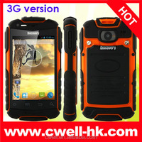 Cheap smartphone in China Discovery V5+ WCDMA dual sim mobile phone rugged waterproof phone low price