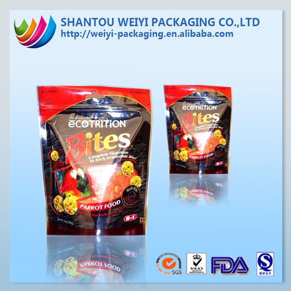 Foil lined fast food packaging film for food distributor