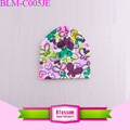 Butterfly baby girl hats wholesale infant cotton caps newborn baby beanie cap