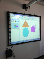 Good appearance lcd interactive smart board with smart board replacement pens