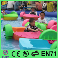 Attractive aqua toy children paddle wheel boat