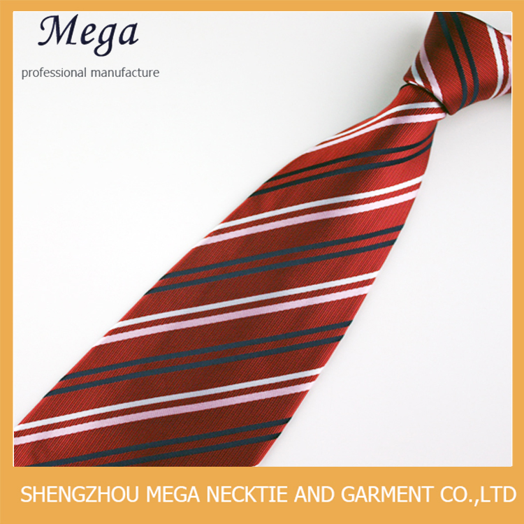 Fashion Colorful New Style Necktie With Blue And Yellow Stripe