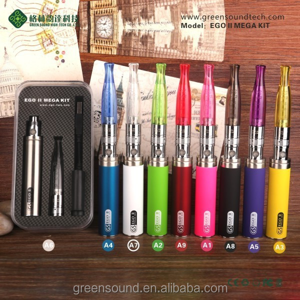 Pen Style h2s vaporizer pen and ego II 2200mAh GS EGO II Mega kit