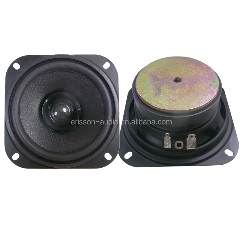 Professional 4ohm RMS 10W 4 inch car subwoofer